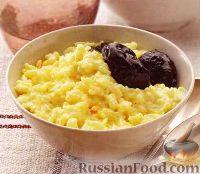 Фото к рецепту: Рисовая каша с черносливом