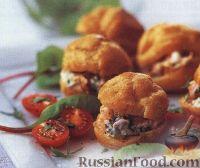 Фото к рецепту: Закуска с рыбой