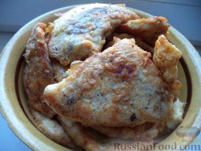 рецепт отбивные из куриной грудки в кляре рецепт с фото