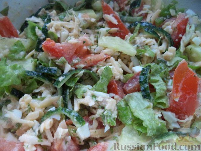 рецепт салата из печени с маслом
