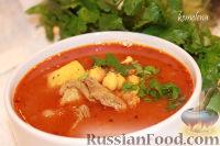 Фото к рецепту: Шорба хумус (алжирский суп из нута)