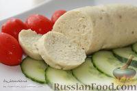 Фото к рецепту: Рыбные сардельки (колбаски)