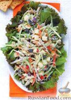 Фото к рецепту: Куриный салат с овощами