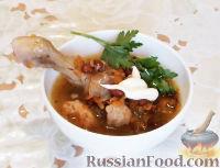 Фото к рецепту: Курица с фасолью (в мультиварке)