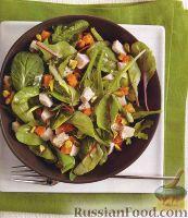 Фото к рецепту: Салат с индюшиным мясом