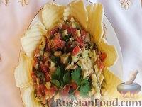 Фото к рецепту: Соус гуакамоле из авокадо и острого перца