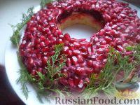 Фото к рецепту: Салат «Гранатовый»