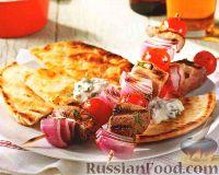 Фото к рецепту: Свиные шашлыки с овощами