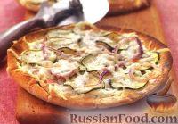 Фото к рецепту: Порционная пицца на лепешках