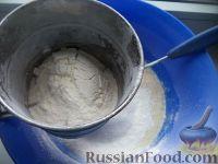 """Фото приготовления рецепта: Блинчики """"Бархатные"""" на молоке - шаг №5"""