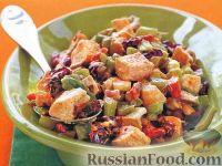 Фото к рецепту: Куриный салат