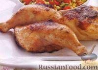 Фото к рецепту: Курица жареная