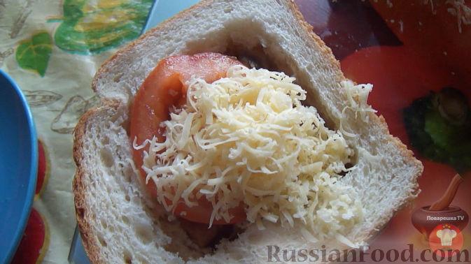 Фото приготовления рецепта: Закрытые песочные мини-пироги с грибами и фасолью - шаг №11