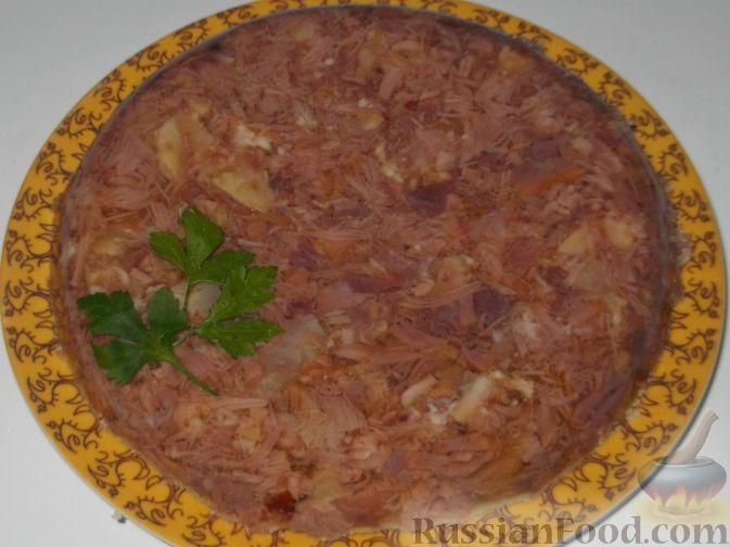 Домашний холодец из говядины рецепт с пошагово 24