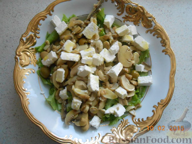 Салаты с грибами рецепты с фото без майонеза