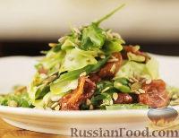 Фото к рецепту: Салат с авокадо и вялеными томатами