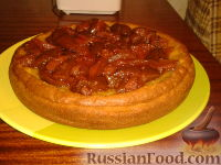 Фото к рецепту: Пирог с апельсиновой цедрой