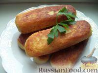 Фото к рецепту: Зразы картофельные с грибами