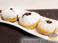 """Фото к рецепту: Пончики """"Суфганийот"""""""