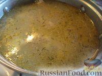 Рецепт: Суп куриный с клецками (по-деревенски) на