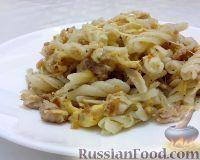 Фото к рецепту: Макароны по-флотски с сыром
