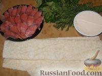 Фото приготовления рецепта: Рулет с семгой - шаг №1