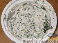 Фото приготовления рецепта: Рулет с семгой - шаг №4