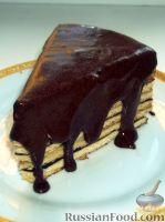 Фото к рецепту: Глазурь с шоколадом