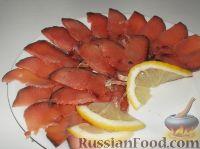 Фото к рецепту: Соление горбуши, семги, кеты, форели