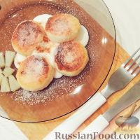 Фото приготовления рецепта: Сырники-пампушки - шаг №1