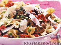 Фото к рецепту: Паста с жареными овощами