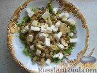 Фото к рецепту: Салат испанский с оливками