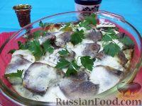 Фото к рецепту: Картофельная запеканка с языком
