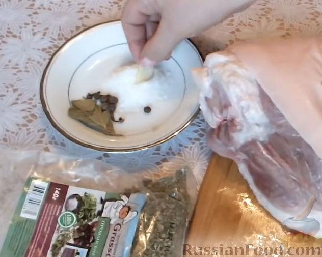 рецепты из свиной рульки в духовке с фото