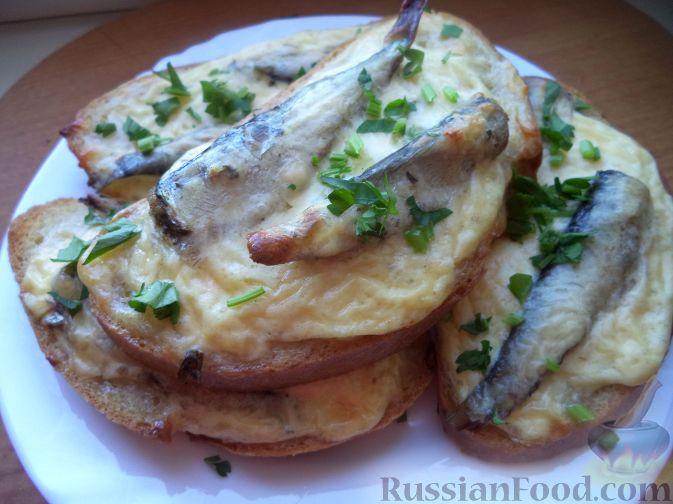 Рецепты бутербродов запеченных с сыром