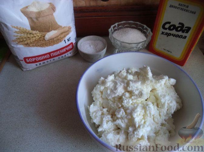 Фото приготовления рецепта: Закусочные сырные шарики с красной рыбой - шаг №7