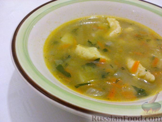 картофельный суп с галушками рецепт