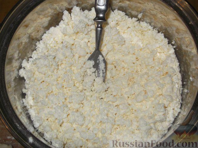 как приготовить из творога начинку для вареников