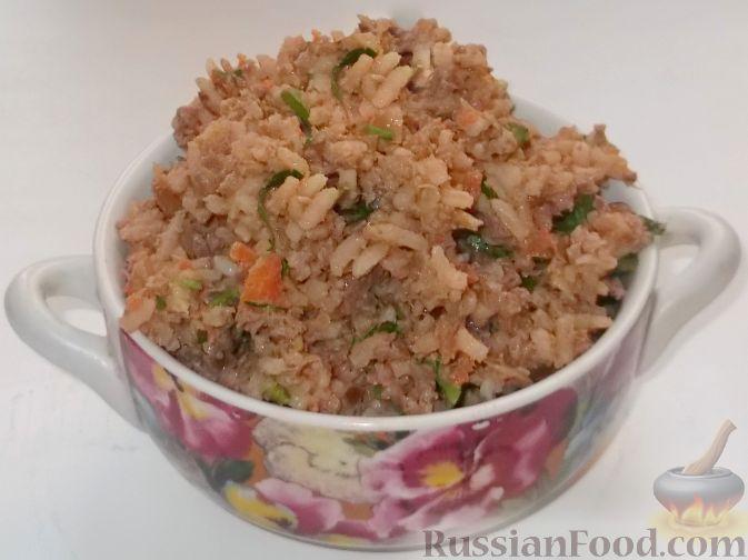 Рецепт пирожки с рисом и печенью