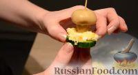"""Фото приготовления рецепта: Закуска (салат) """"Грибная поляна"""" - шаг №6"""