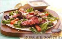 Фото к рецепту: Горячая закуска с жареным мясом