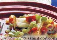 Фото к рецепту: Соте из цуккини и болгарского перца