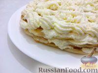 "Фото к рецепту: Блинный торт ""Пломбир"""
