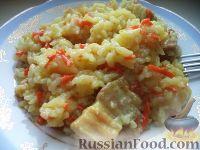 Фото к рецепту: Полевая каша из риса с мясом