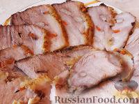 Фото приготовления рецепта: Сочная буженина в фольге - шаг №10
