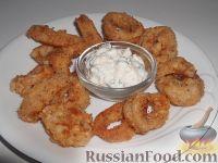 Фото к рецепту: Кальмары в кляре