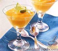 Фото к рецепту: Манговый пудинг