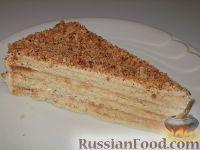 Фото к рецепту: Песочный торт с масляным кремом