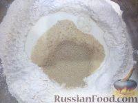 Фото приготовления рецепта: Тесто на дрожжах для пирогов и пирожков - шаг №3