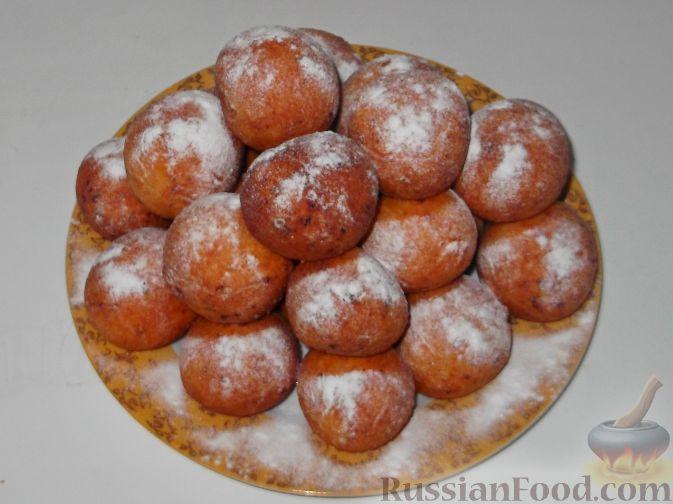 сирні пончики рецепт з фото